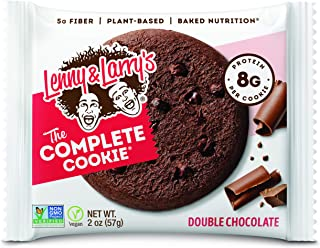 Lenny & Larry Complete Cookie 12x56g Double Chocolate