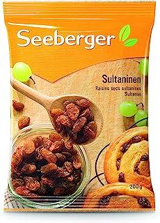 Seeberger 无核葡萄干(不添加糖),13袋(13 x 200 g)