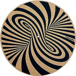 转盘防滑垫 - 特别设计的软木。 软木几何艺术