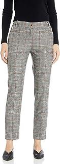 Calvin Klein 女士新颖格子长裤