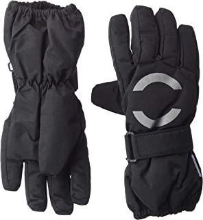 MIKK-Line - 麦尔登尼龙青少年可调冬季手套 7-8Y 黑色 93006-190-122/128-190-7-8Y