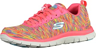 Skechers Flex Appeal - Floral Bloom 女式健身鞋