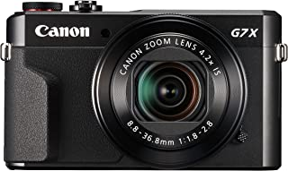 Canon 佳能 Powershot G7 X Mark II 数码相机 - Vlogging 相机,带全高清 60p 电影和倾斜触摸屏,非常适合博客和 YouTube 内容创作者