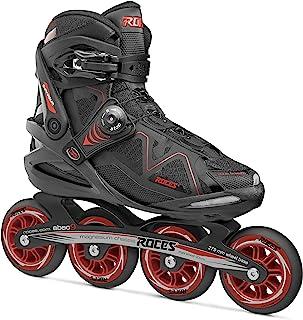 Roces Model Gymnasium 2.0 男式健身内嵌滑冰鞋,美码 7 码,黑色/红色