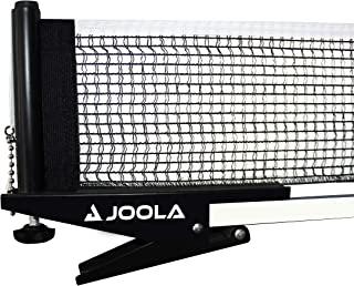 JOOLA 高级室内乒乓球网和柱子套装 – 便携和轻松设置 182.88 cm 标准尺寸乒乓球弹簧夹网