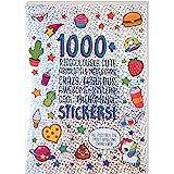 Fashion Angels 1000 + 神奇可爱的儿童贴纸 - 剪贴簿、规划师、礼品和*励的有趣手工贴纸,40 页贴…