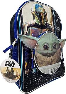 "Star Wars""The Child""婴儿 Yoda 16 英寸背包,带头形前袋"