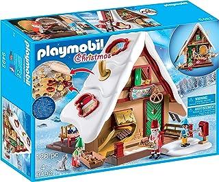 PLAYMOBIL 圣诞节 9493 圣诞糕点店 带饼干形状 适合 4 岁以上儿童