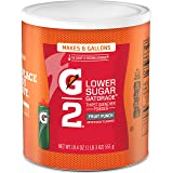 Gatorade Thirst Quencher Powder, G2 Fruit Punch, 19.4 Ounce…