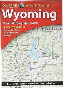 Garmin Delorme Atlas & Gazetteer 纸张地图 - 怀俄明州 (010-12694-00)