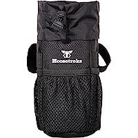 Moosetreks 自行车把手杆包 — 食品零食储存、水瓶架 — 自行车包、自行车旅行、通勤、隔热袋