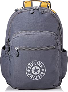 Kipling 凯浦林 Seoul 休闲背包,44 厘米 Grey (Dark Carbon Y) Grey (Dark Carbon Y)