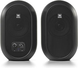 JBL Professional 1系列 104-BT 紧凑型桌面参考显示器,带蓝牙,黑色,成对销售