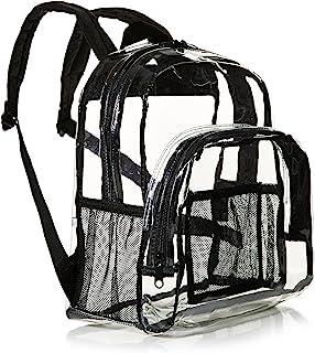 AmazonBasics亚马逊倍思 – 手提包,符合体育场标准 透明 Mini-Rucksack