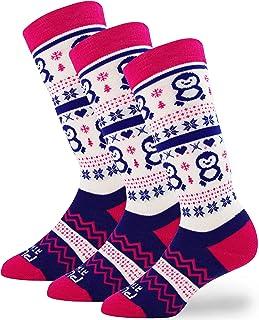 Ski Socks 青年,幼儿,男孩,女孩 - 儿童滑雪袜,保暖羊毛冬季