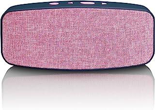 Lenco 蓝牙扬声器BT-130 Pink ohne Diskolicht 3 Watt