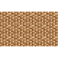 DECO SHEET 贴可撕装饰贴纸 40cm×100cm 马赛克木质花纹 DEC-08 BR・棕色
