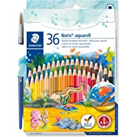 STAEDTLER施德楼 36色水溶性彩色铅笔 144 10ND36