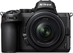 Nikon 尼康 Z5 + Z 24-50 毫米无反相机套件(273 点混合 AF,5 轴机身光学图像稳定,4K 电影,双卡槽)VOA040K001