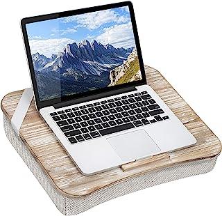 LapGear Heritage 笔记本电脑桌 带设备边缘 - 白色水洗 - 适合*大 17.3 英寸笔记本电脑 - 款式编号 45611