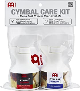 Meinl Cymbals MCCK-MCCL 泳池护理套装,含250毫升水槽清洁剂和250毫升表面密封,包括免费一副 Meinl 手套