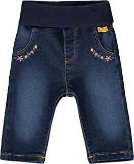 Steiff 女婴带甜美的 teddyenberappation 牛仔裤