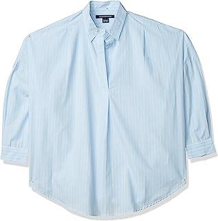 French Connection 女士棉质混合条纹衬衫