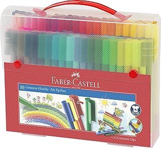 Faber-Castell 辉柏嘉 155579 – 毛毡笔连接器,箱子装,80件,1件