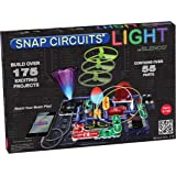 ELENCO Snap Circuits 电子光探索套装| 超过175个令人兴奋的STEM项目| 全彩项目手册| 55个…