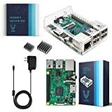 Vilros Raspberry Pi 3 套装带透明外壳和 2.5A 电源
