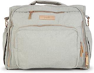 JuJuBe   BFF 可转换尿布背包/邮差包   口袋整理带尿布垫, 卵石色, 大