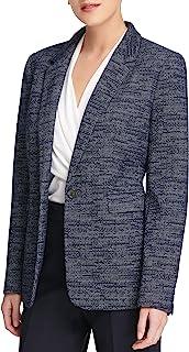 DKNY 女士针织单扣夹克