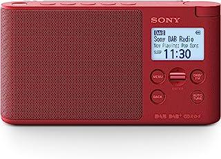 Sony 索尼 便携式数字收音机 Dab,Dab+,FM(RDS),定时闹钟,交流电源适配器和/或电池供电,25 小时电池寿命