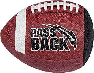 Passback 青少年橡胶足球,年龄 9-13 岁,青年训练足球