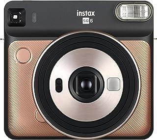 Fujifilm 富士 Instax SQ EX D 拍立得相机16581408  即时相机 Square Blush Gold