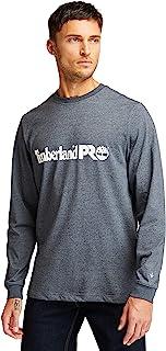 Timberland 添柏岚 PRO 男式底板长袖 T 恤带胸口标志加大加长款