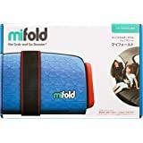 mifold 便携型折叠儿童汽车座椅 牛仔蓝 15~36kg【日本正品】/BCMI00102