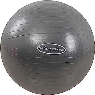 BalanceFrom 防爆防滑运动球瑜伽球健身球,带快速泵,2,000 磅容量