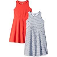 Amazon Essentials 女童 2 件装背心裙