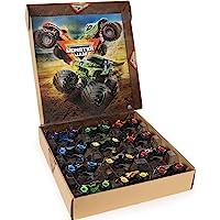 Monster Jam,官方 12 件装,比例为 1:64 的压铸怪物卡车,亚马逊*经销