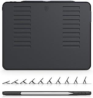 The Muse Case - 2018 iPad Pro 12.9 英寸 *三代(旧型号) - 非常保护但轻薄 + 方便的磁性支架 + */唤醒盖(型号为 A1876、A2014、A1895、A1983)