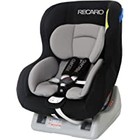 德国RECARO诺亚之舟儿童汽车安全座椅—灰黑色(适合2.5kg-18kg,0-4岁,可正返两向安装,可坐躺调节,贝壳型…