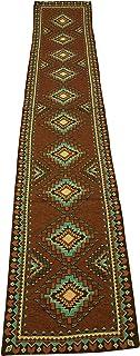Tucumcari 西南设计提花桌布 33.02x182.88 厘米
