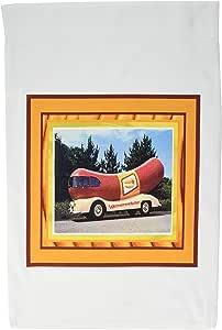 苏珊布朗设计复古主题–weinermobile–旗帜 12 x 18 inch Garden Flag
