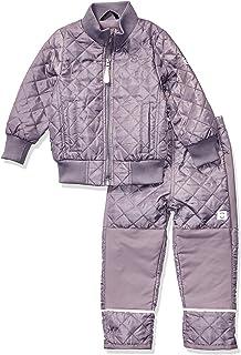 MIKK-Line - 麦尔登男宝宝 Thermowear 抓绒内衬上衣和裤子保暖套装
