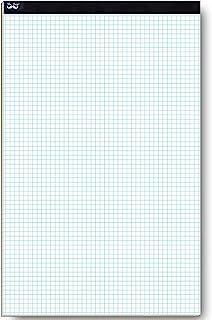 Mr. Pen- Graph Paper,网格纸,22 张纸,10.16 x 10.16 厘米(每平方英寸),43.18 x 27.94 厘米,绘图纸,方形纸,蓝印纸,建筑纸张,计算垫,Quadrille Writing Paper,画本