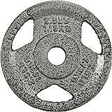 Sporzon!铸铁奥林匹克 2 英寸/约5.08厘米握板 重力板 用于力量训练、举重和健身运动,单个