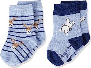 Sterntaler 思丹乐 男婴袜子 2 件装 北极熊
