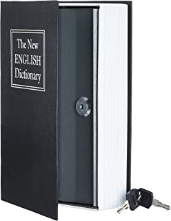 AmazonBasics 亚马逊倍思 Book Safe Lock Box 黑色 大 SW-802K-K