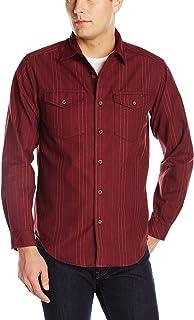 Exofficio Men's Trail Crest Stripe Long Sleeve